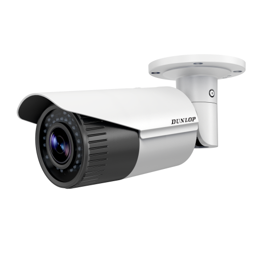 SD card supported camera with bullet type infrared varifocal alarm input output